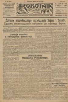 Robotnik : centralny organ P.P.S. R.32, № 146 (29 maja 1926) = № 2946