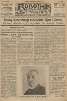 Robotnik : centralny organ P.P.S. R.32, № 151 (3 czerwca 1926) = № 2957