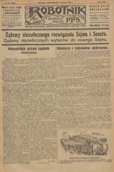 Robotnik : centralny organ P.P.S. R.32, № 155 (7 czerwca 1926) = № 2955