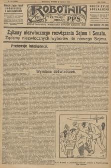 Robotnik : centralny organ P.P.S. R.32, № 156 (8 czerwca 1926) = № 2956