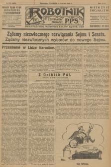 Robotnik : centralny organ P.P.S. R.32, № 165 (17 czerwca 1926) = № 2965