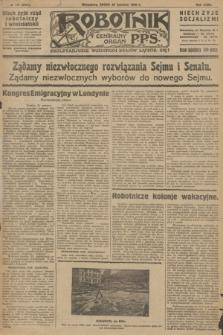 Robotnik : centralny organ P.P.S. R.32, № 177 (30 czerwca 1926) = № 2977