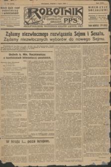 Robotnik : centralny organ P.P.S. R.32, № 179 (2 lipca 1926) = № 2979