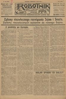 Robotnik : centralny organ P.P.S. R.32, № 185 (8 lipca 1926) = № 2985