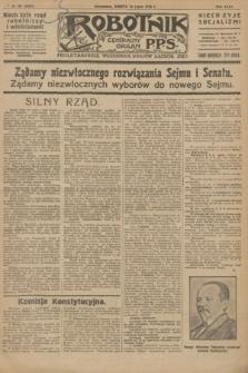 Robotnik : centralny organ P.P.S. R.32, № 187 (10 lipca 1926) = № 2987