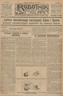 Robotnik : centralny organ P.P.S. R.32, № 188 (11 lipca 1926) = № 2988