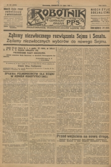 Robotnik : centralny organ P.P.S. R.32, № 192 (15 lipca 1926) = № 2992
