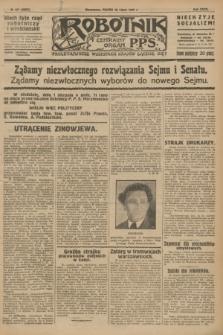 Robotnik : centralny organ P.P.S. R.32, № 207 (30 lipca 1926) = № 3007