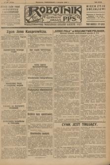 Robotnik : centralny organ P.P.S. R.32, № 210 (2 sierpnia 1926) = № 3010