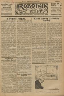 Robotnik : centralny organ P.P.S. R.32, № 220 (12 sierpnia 1926) = № 3020