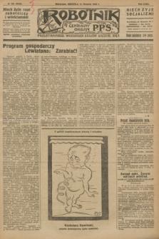 Robotnik : centralny organ P.P.S. R.32, № 223 (15 sierpnia 1926) = № 3023