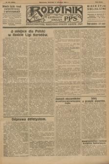 Robotnik : centralny organ P.P.S. R.32, № 225 (17 sierpnia 1926) = № 3025