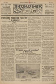 Robotnik : centralny organ P.P.S. R.32, № 227 (19 sierpnia 1926) = № 3027