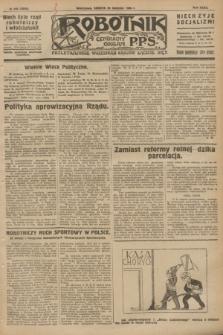 Robotnik : centralny organ P.P.S. R.32, № 236 (28 sierpnia 1926) = № 3036