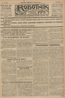 Robotnik : centralny organ P.P.S. R.32, № 245 (6 września 1926) = № 3045