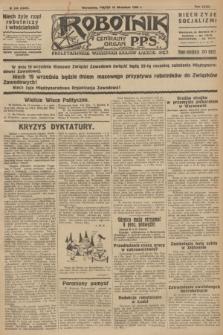 Robotnik : centralny organ P.P.S. R.32, № 249 (10 września 1926) = № 3049