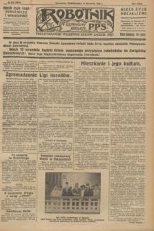 Robotnik : centralny organ P.P.S. R.32, № 252 (13 września 1926) = № 3052