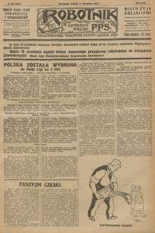 Robotnik : centralny organ P.P.S. R.32, № 256 (17 września 1926) = № 3056