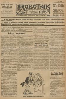 Robotnik : centralny organ P.P.S. R.32, № 257 (18 września 1926) = № 3057