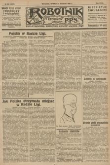 Robotnik : centralny organ P.P.S. R.32, № 260 (21 września 1926) = № 3060