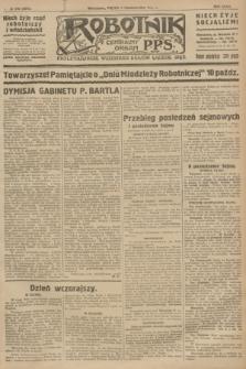 Robotnik : centralny organ P.P.S. R.32, № 270 (1 października 1926) = № 3070