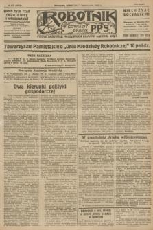 Robotnik : centralny organ P.P.S. R.32, № 276 (7 października 1926) = № 3076