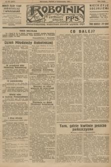Robotnik : centralny organ P.P.S. R.32, № 277 (8 października 1926) = № 3077