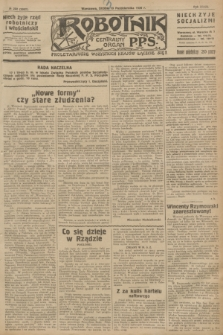 Robotnik : centralny organ P.P.S. R.32, № 282 (13 października 1926) = № 3082