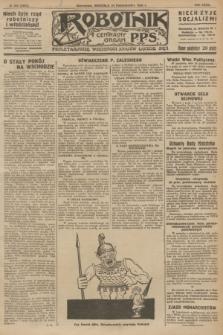 Robotnik : centralny organ P.P.S. R.32, № 293 (24 października 1926) = № 3093