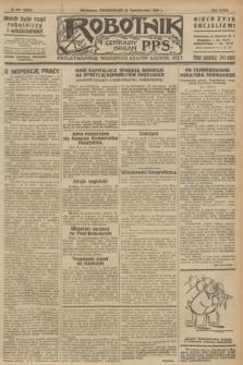 Robotnik : centralny organ P.P.S. R.32, № 294 (25 października 1926) = № 3094