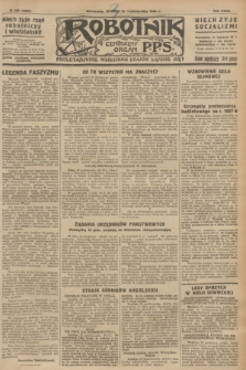 Robotnik : centralny organ P.P.S. R.32, № 295 (26 października 1926) = № 3095