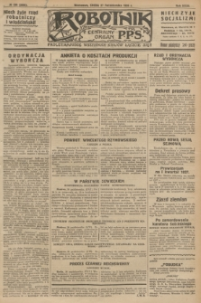 Robotnik : centralny organ P.P.S. R.32, № 296 (27 października 1926) = № 3096
