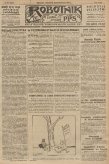 Robotnik : centralny organ P.P.S. R.32, № 297 (28 października 1926) = № 3097