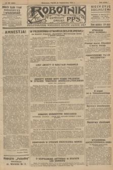 Robotnik : centralny organ P.P.S. R.32, № 298 (29 października 1926) = № 3098