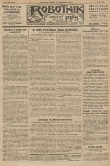 Robotnik : centralny organ P.P.S. R.32, № 299 (30 października 1926) = № 3099