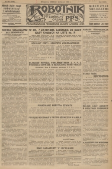 Robotnik : centralny organ P.P.S. R.32, № 305 (6 listopada 1926) = № 3105