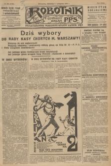 Robotnik : centralny organ P.P.S. R.32, № 306 (7 listopada 1926) = № 3106