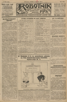 Robotnik : centralny organ P.P.S. R.32, № 308 (9 listopada 1926) = № 3108