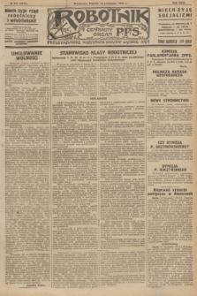 Robotnik : centralny organ P.P.S. R.32, № 311 (12 listopada 1926) = № 3111