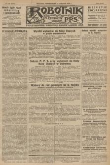 Robotnik : centralny organ P.P.S. R.32, № 314 (15 listopada 1926) = № 3114