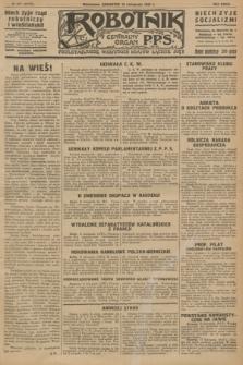 Robotnik : centralny organ P.P.S. R.32, № 317 (18 listopada 1926) = № 3117