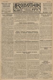 Robotnik : centralny organ P.P.S. R.32, № 318 (19 listopada 1926) = № 3118