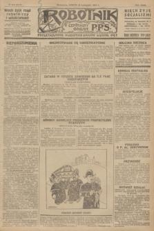 Robotnik : centralny organ P.P.S. R.32, № 319 (20 listopada 1926) = № 3119