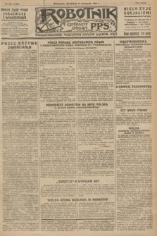Robotnik : centralny organ P.P.S. R.32, № 320 (21 listopada 1926) = № 3120
