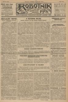 Robotnik : centralny organ P.P.S. R.32, № 322 (23 listopada 1926) = № 3122