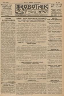 Robotnik : centralny organ P.P.S. R.32, № 323 (24 listopada 1926) = № 3123
