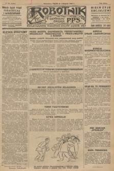 Robotnik : centralny organ P.P.S. R.32, № 325 (26 listopada 1926) = № 3125