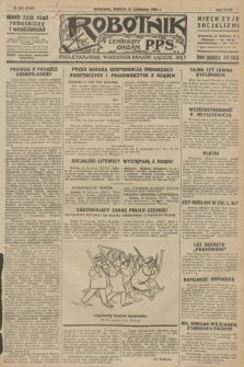Robotnik : centralny organ P.P.S. R.32, № 326 (27 listopada 1926) = № 3126