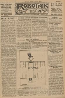 Robotnik : centralny organ P.P.S. R.32, № 339 (10 grudnia 1926) = № 3139