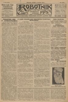 Robotnik : centralny organ P.P.S. R.32, № 343 (14 grudnia 1926) = № 3143